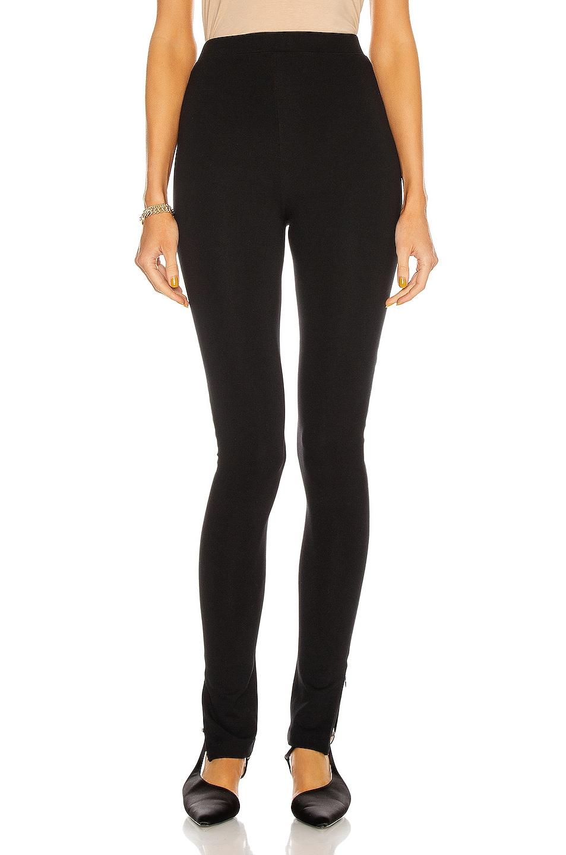 Image 2 of Toteme Cork Pant in Black