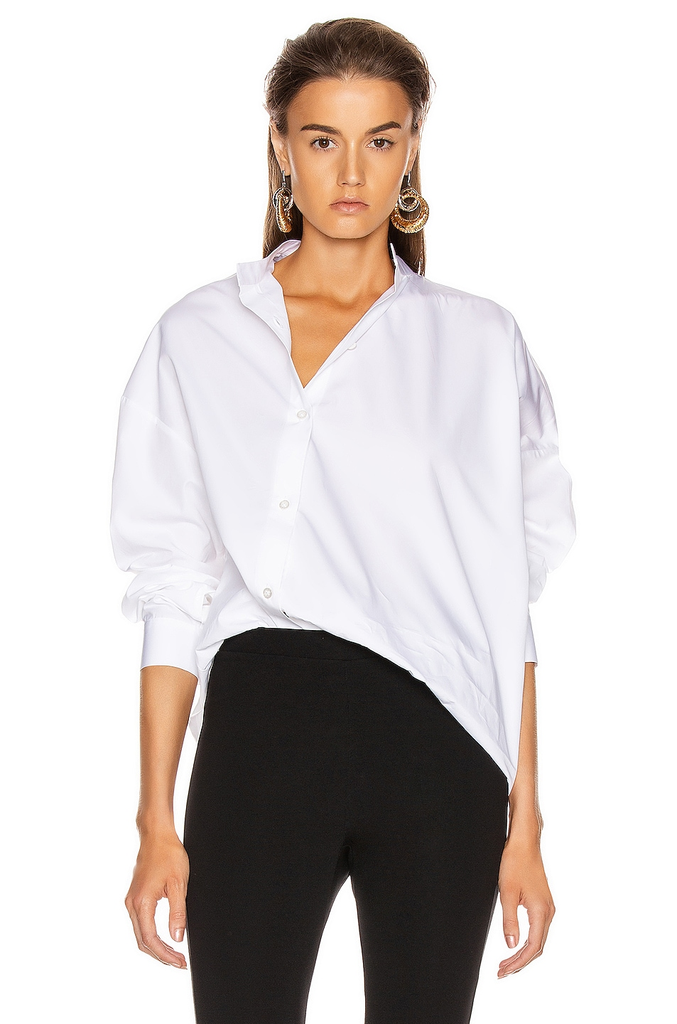 Image 1 of Toteme Noma Top in White
