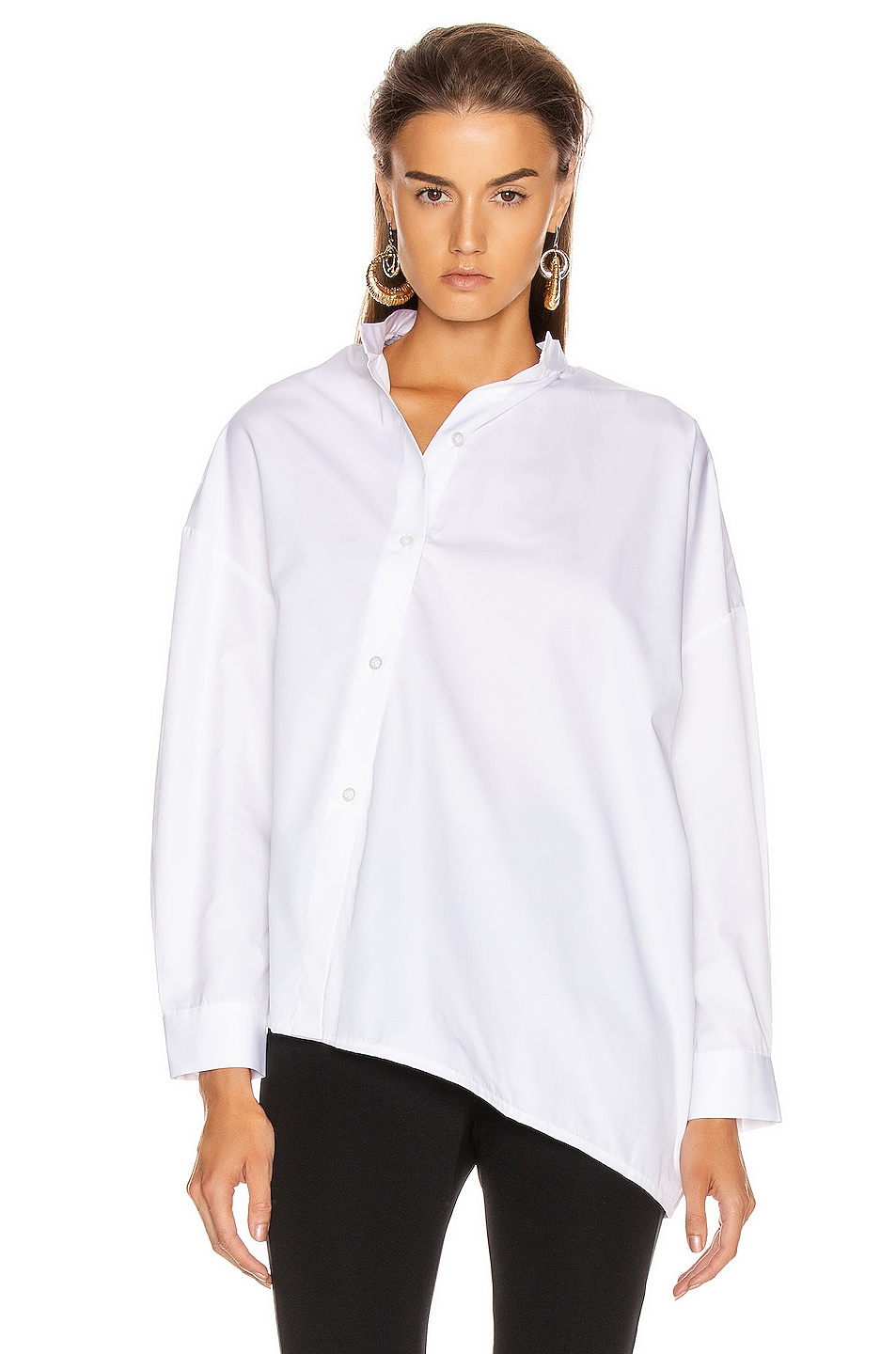 Image 2 of Toteme Noma Top in White