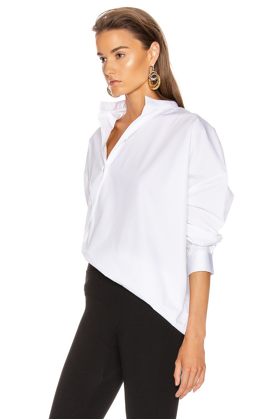 Image 4 of Toteme Noma Top in White