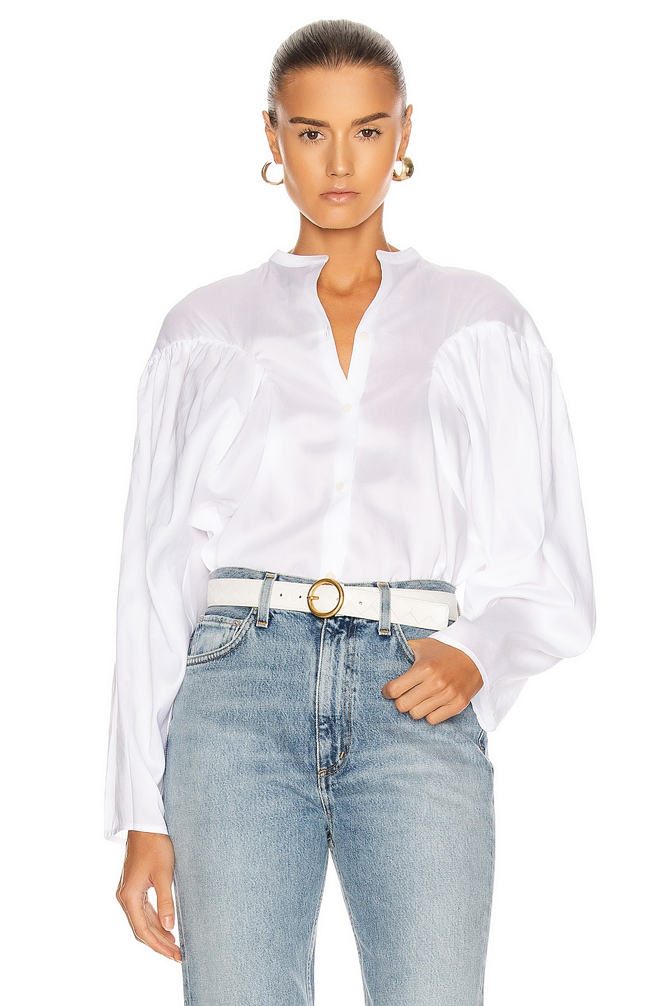 Image 1 of Toteme Moncton Top in White