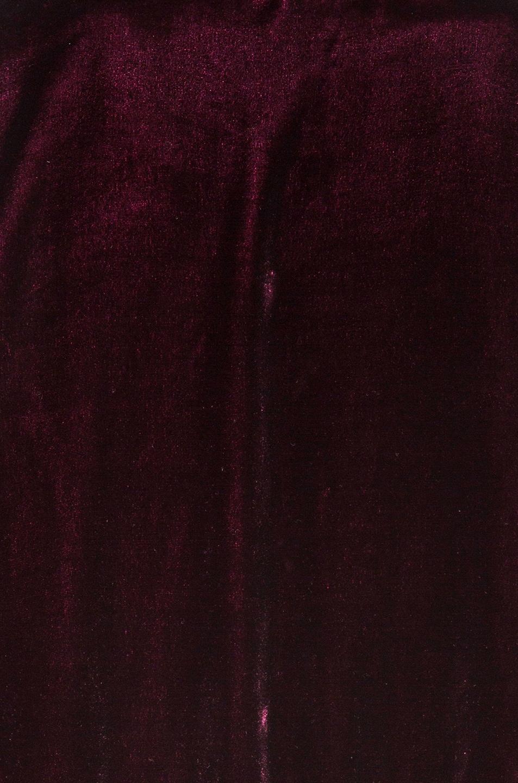 Image 7 of ThePerfext Ashley Bomber Jacket in Burgundy