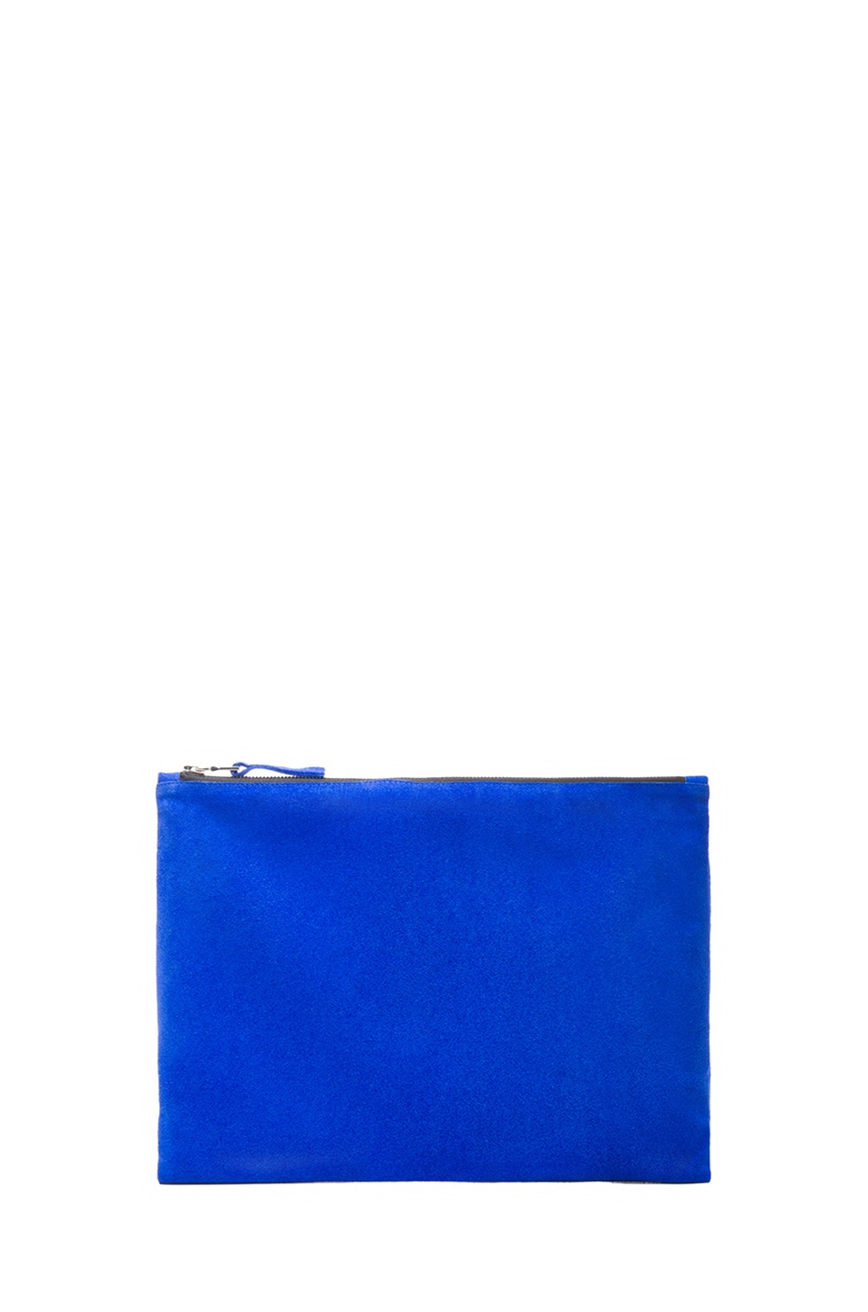 Image 1 of ThePerfext Pouch in Cobalt Suede