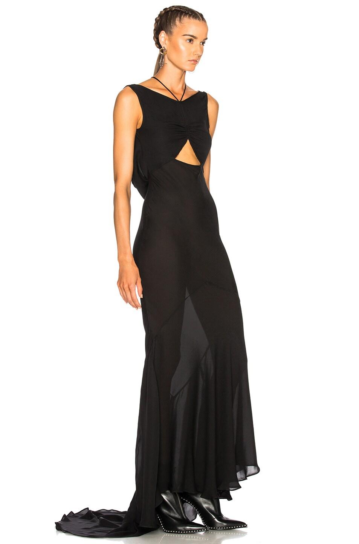 TRE Bias Cut Gown in Black | FWRD