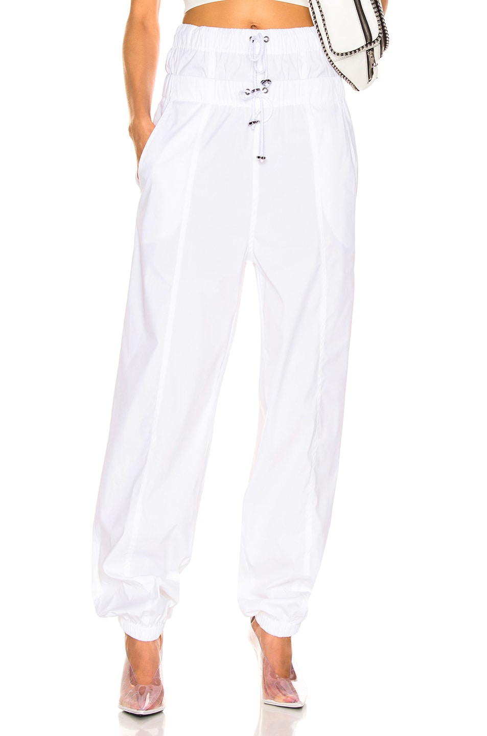 Image 1 of TRE by Natalie Ratabesi Flo Track Pant in White