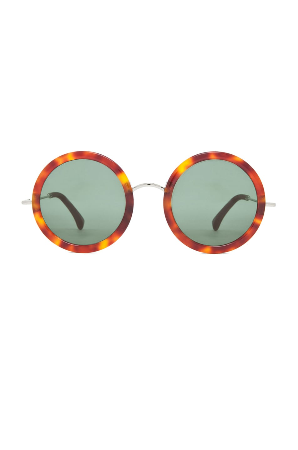 Image 1 of The Row Signature Circle Sunglasses in T Shell