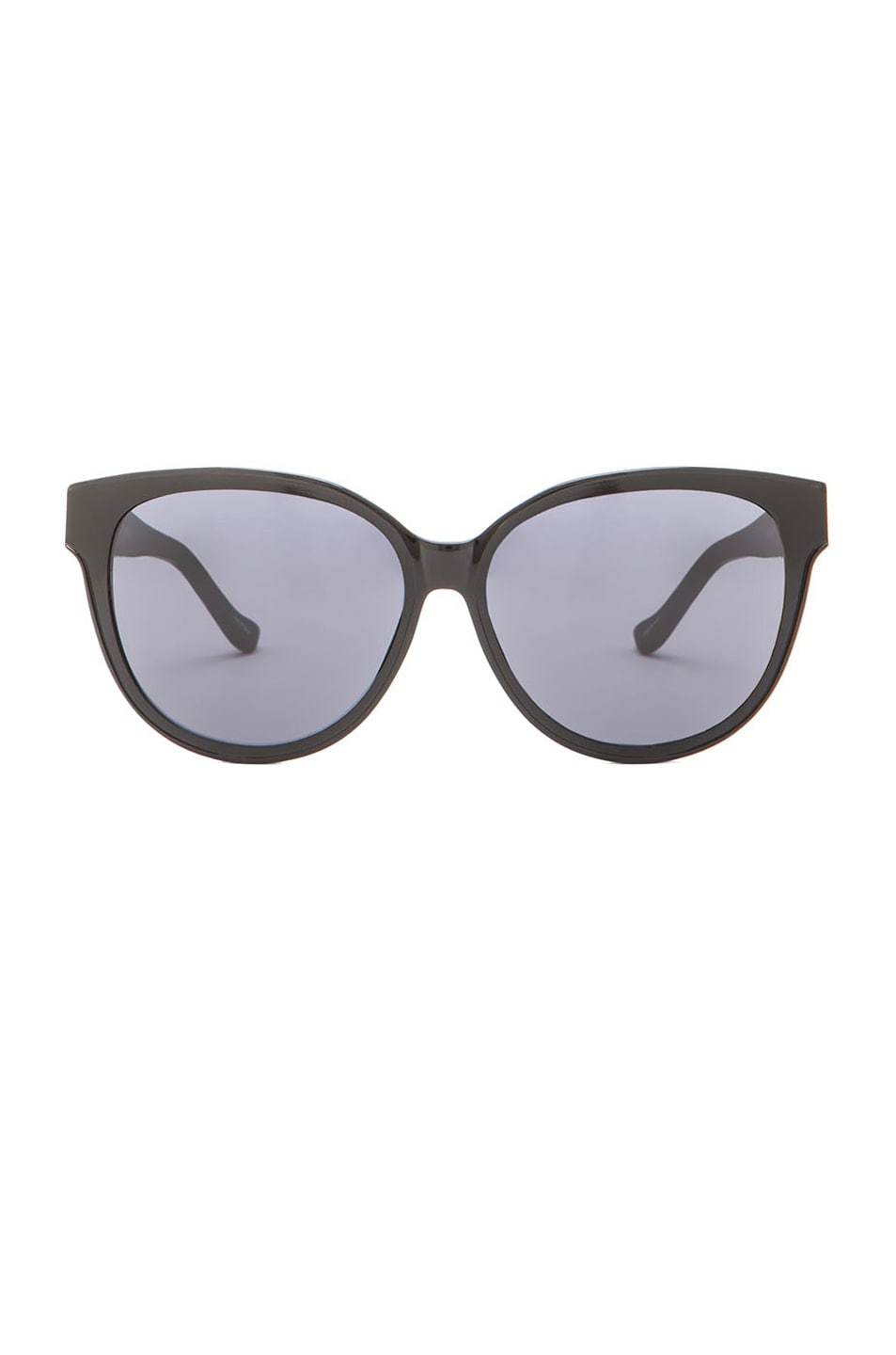 Image 1 of The Row Cat Eye Sunglasses in Black