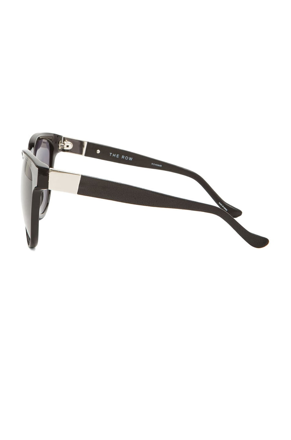 Image 3 of The Row Cat Eye Sunglasses in Black