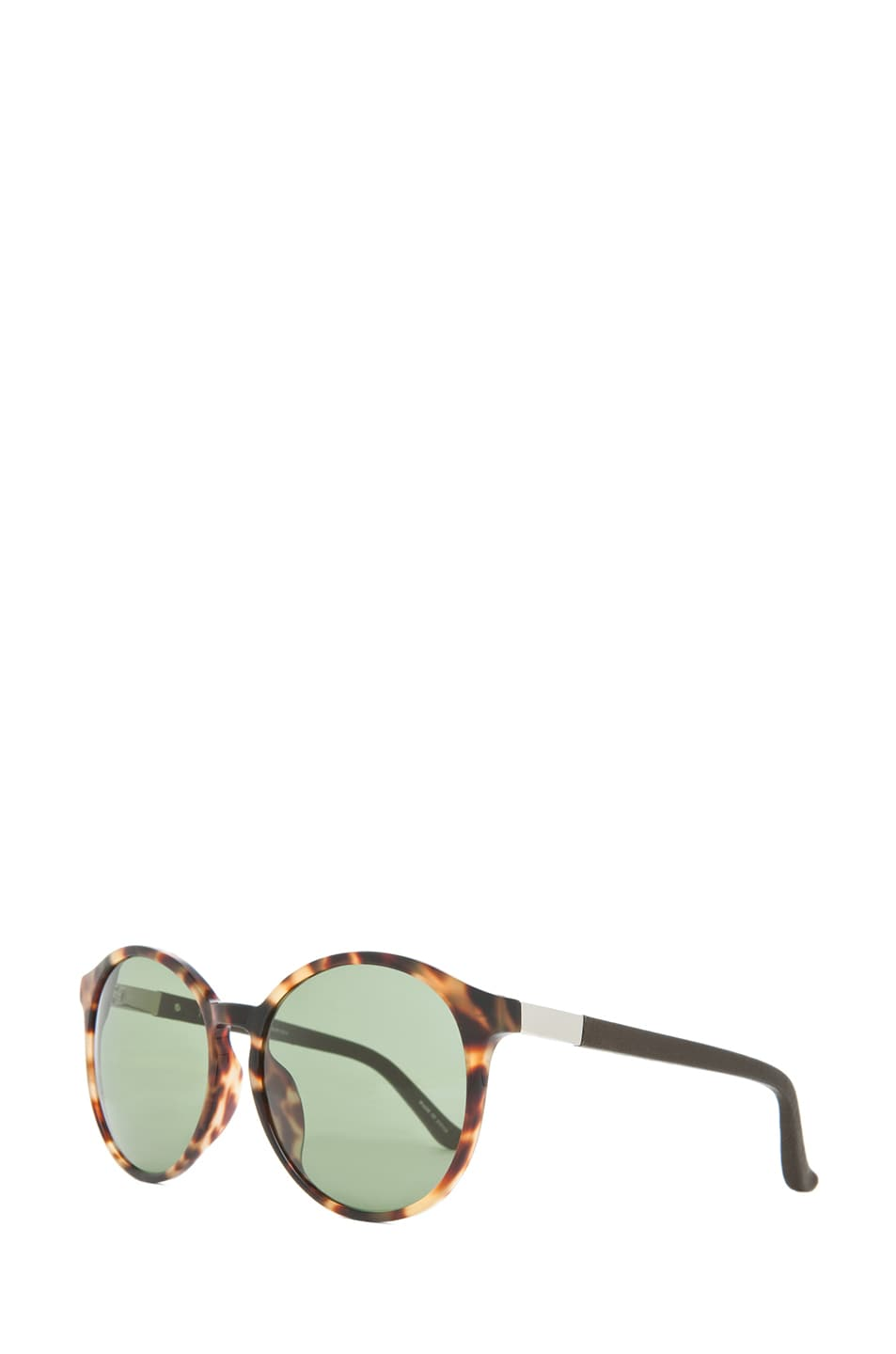 Image 2 of The Row Classic Keyhole Round Sunglasses in Tortoise
