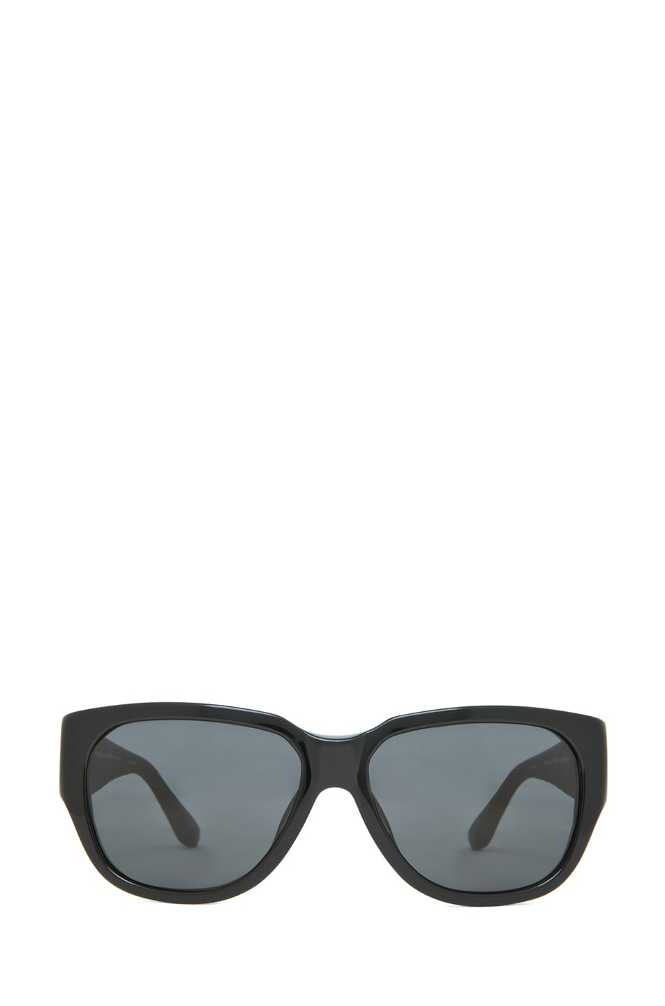 Image 1 of The Row Rectangular D-Frame Sunglasses in Black
