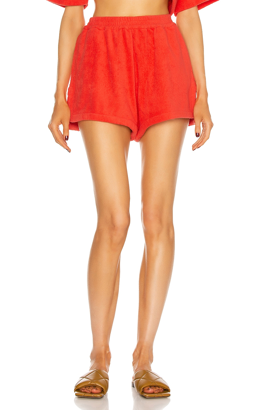 Image 1 of TERRY Estate Short in Red