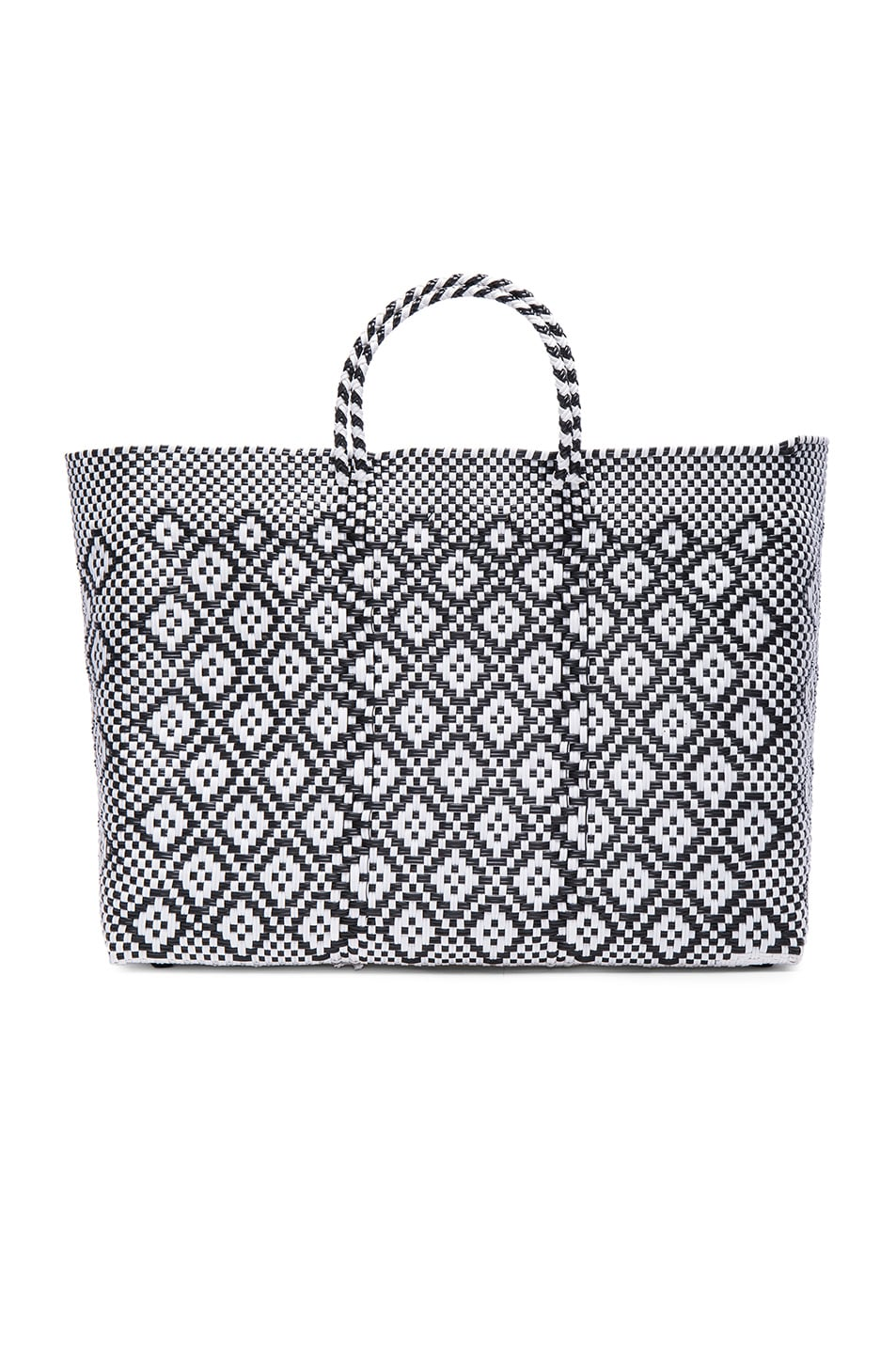 Image 1 of Truss Large Sunset Tote in Black & White