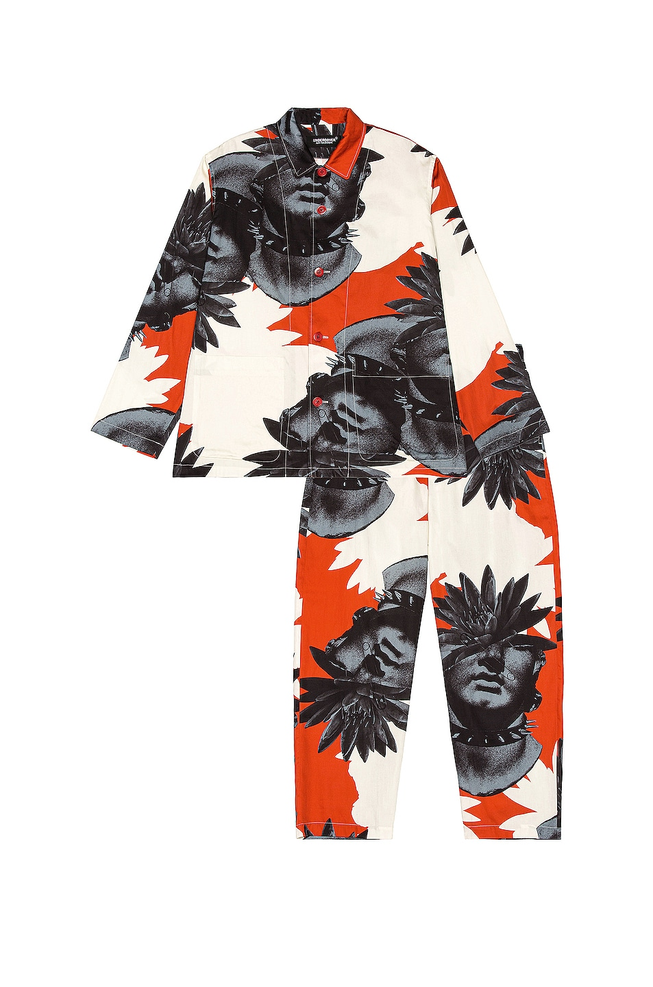 Image 1 of Undercover Pajamas in Red Base