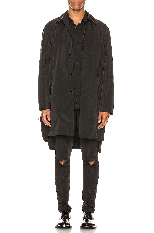 Image 1 of Undercover Overcoat in Black