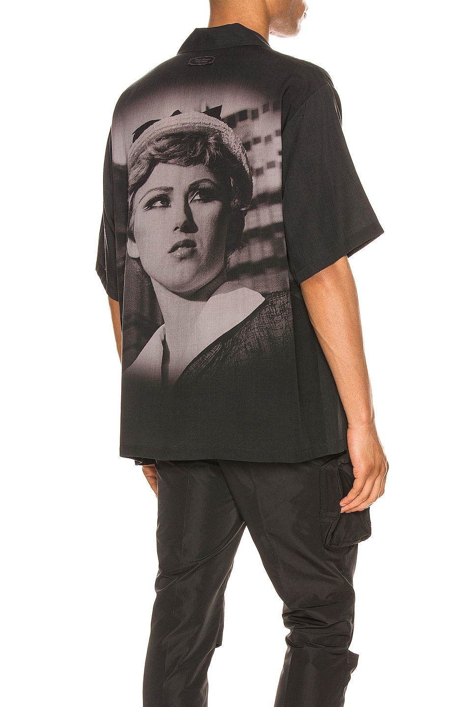 Image 1 of Undercover Short Sleeve Shirt in Black