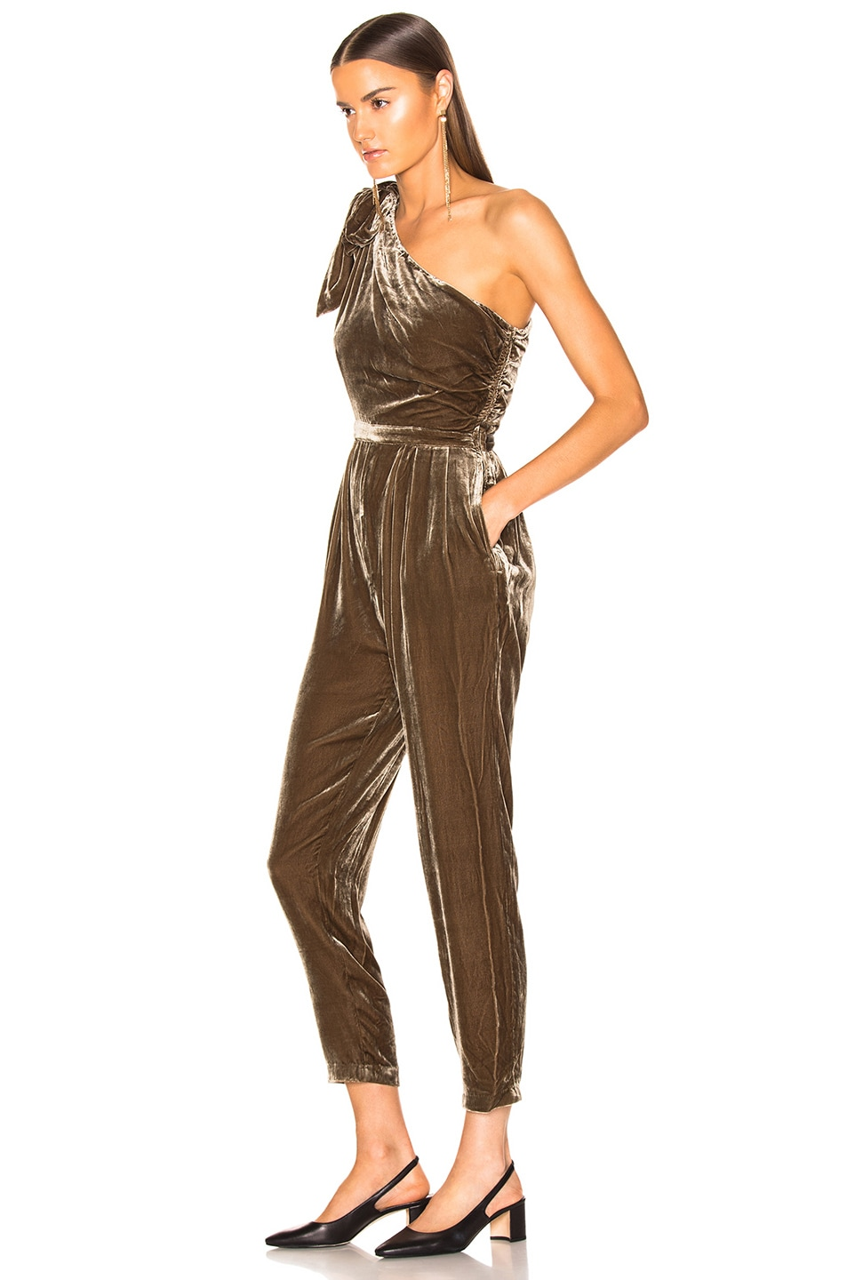 Image 3 of Ulla Johnson Tess Jumpsuit in Cub