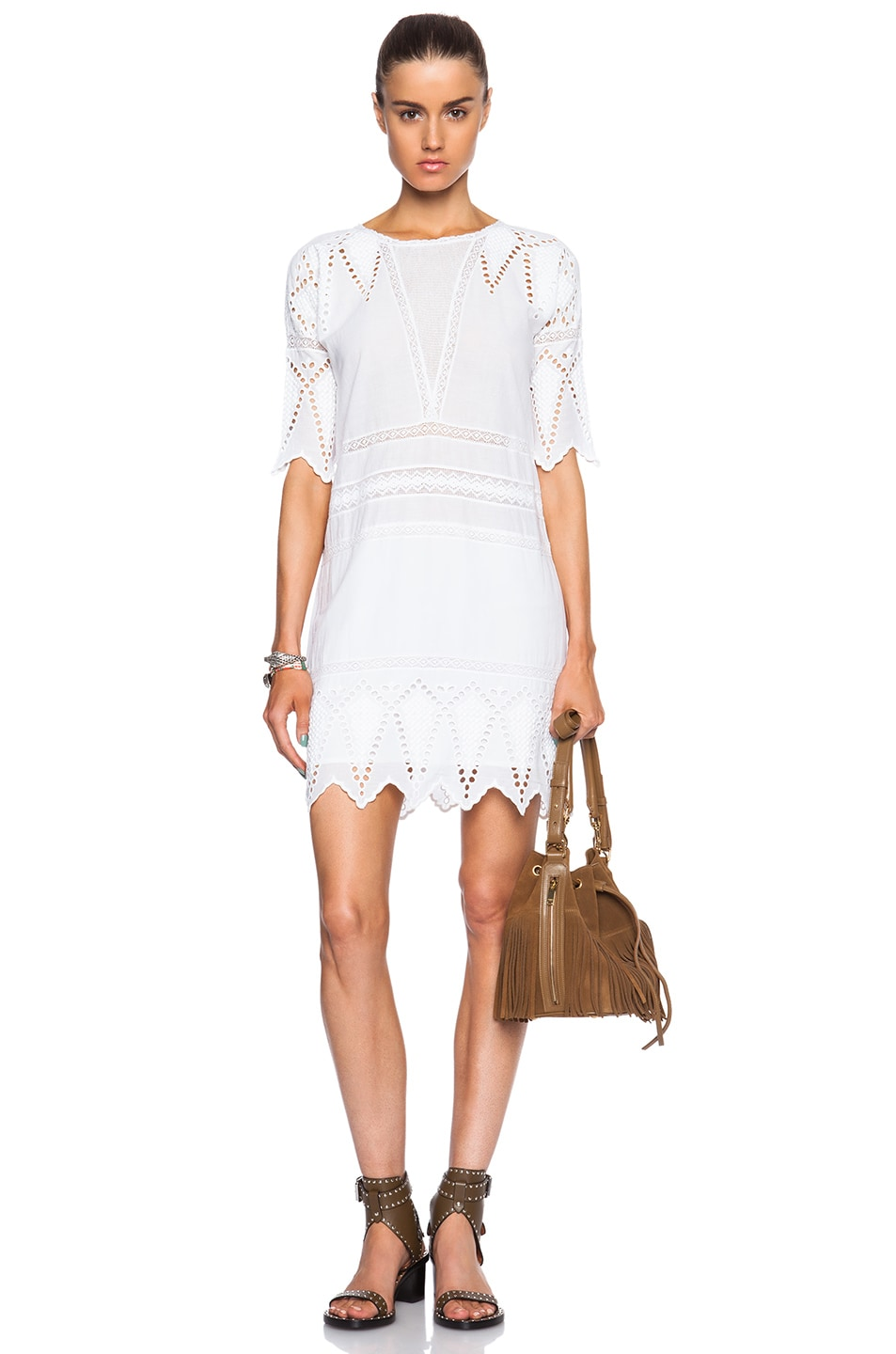 Image 1 Of Ulla Johnson Lupe Dress In Pristine
