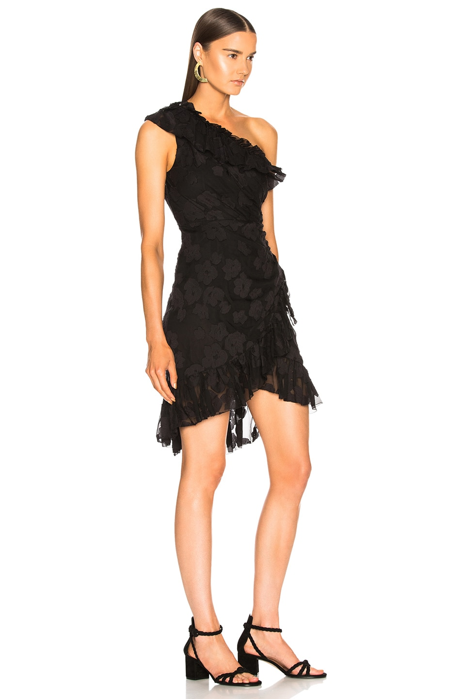 Image 2 of Ulla Johnson Rimona Dress in Noir