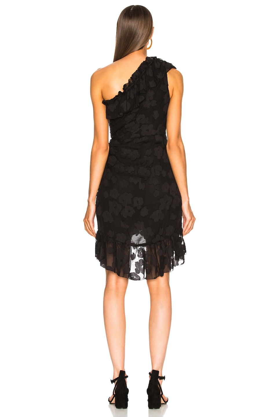 Image 4 of Ulla Johnson Rimona Dress in Noir