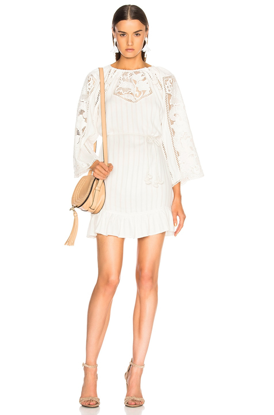 Ulla Johnson Ezra Dress in White