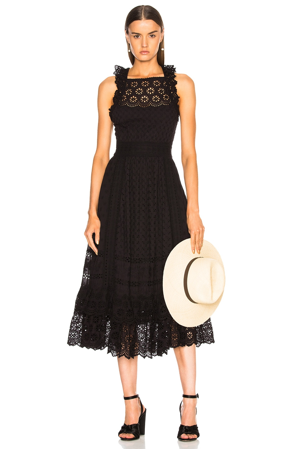 Ulla Johnson Willow Dress in Black