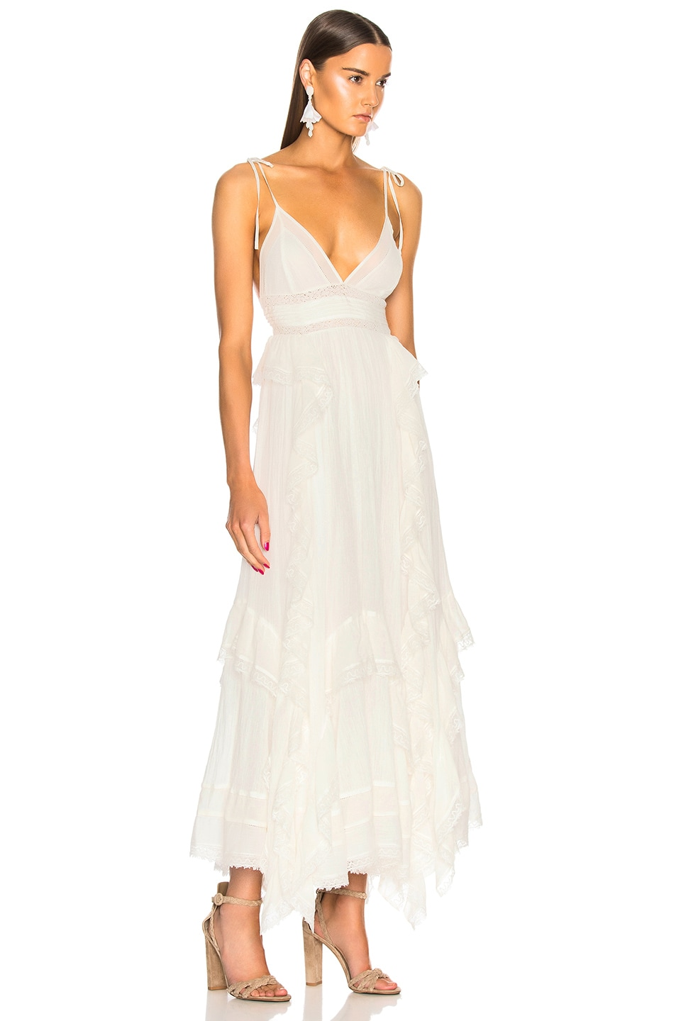 Image 2 of Ulla Johnson Bardot Dress in Blanc