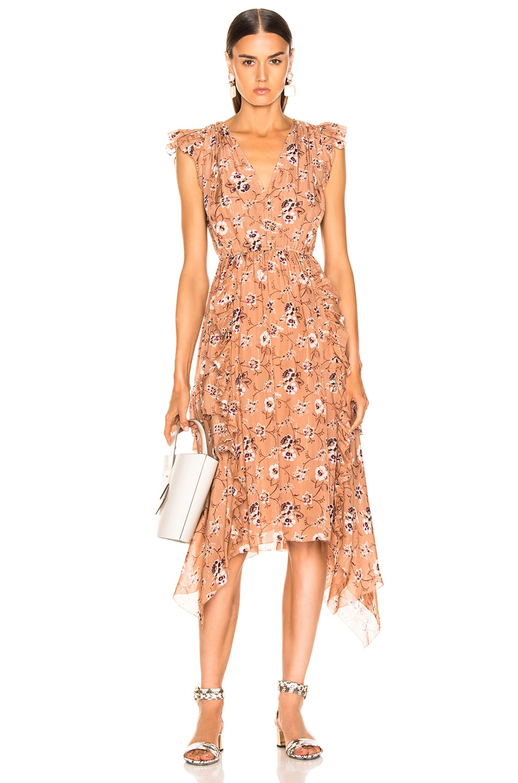 Image 1 of Ulla Johnson Ciel Dress in Cafe