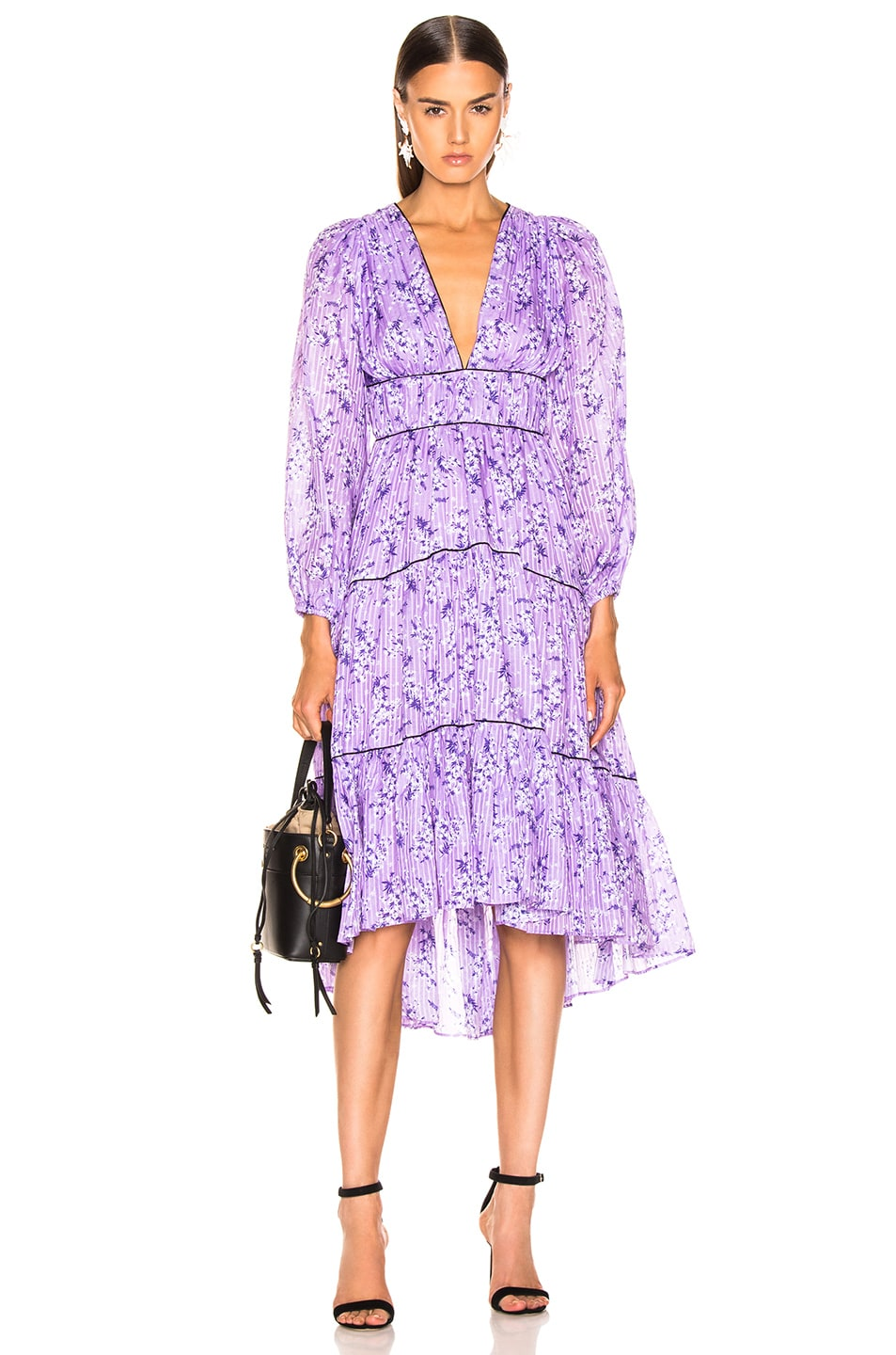 Image 1 of Ulla Johnson Joan Dress in Lilac