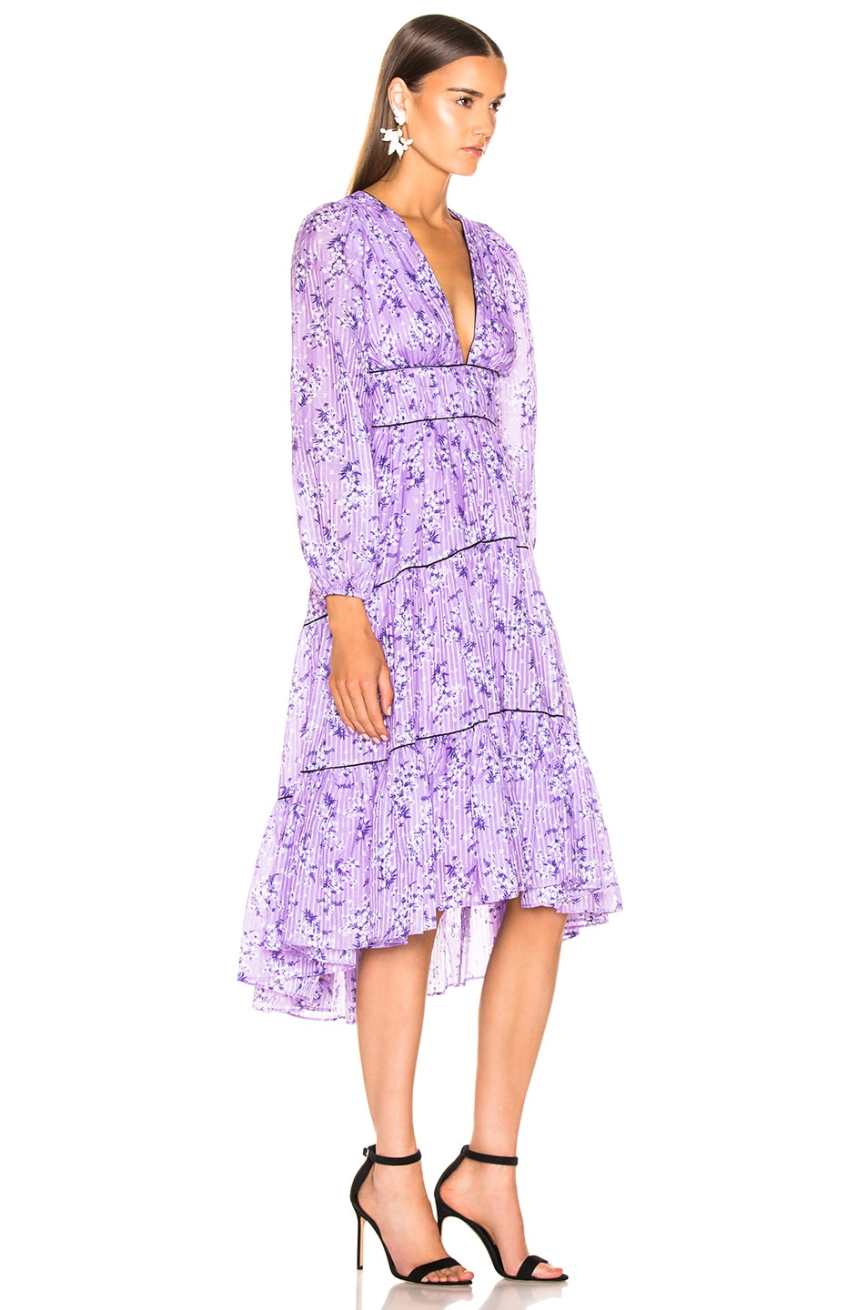 Image 2 of Ulla Johnson Joan Dress in Lilac