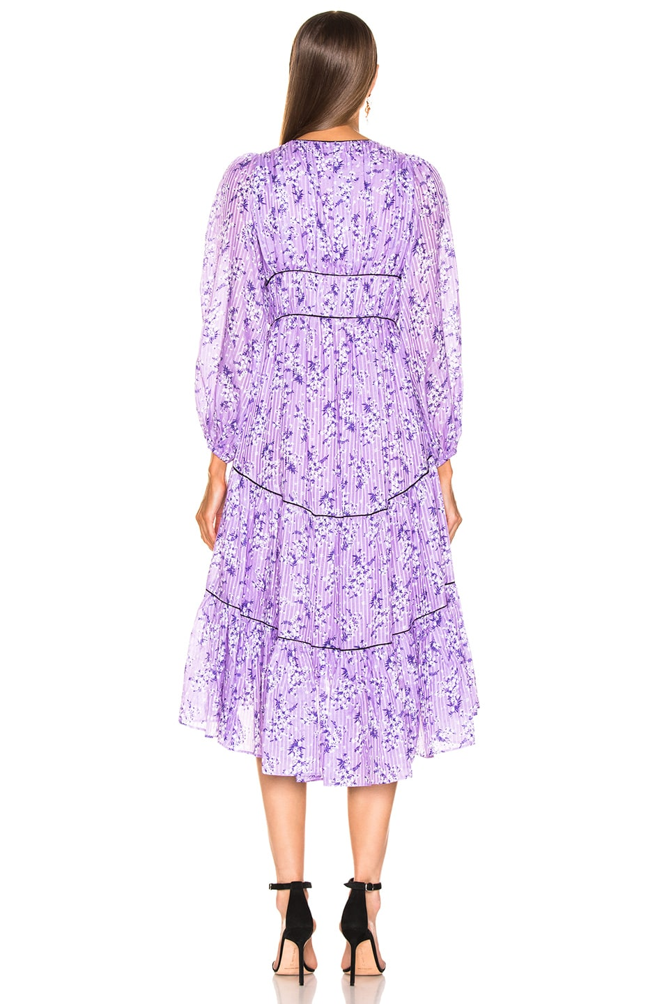 Image 3 of Ulla Johnson Joan Dress in Lilac