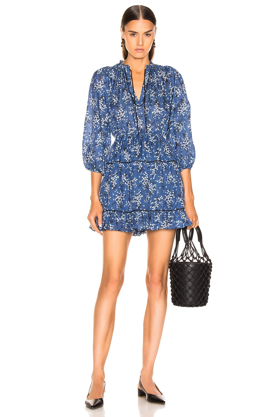 Image 1 of Ulla Johnson Brienne Dress in Cornflower