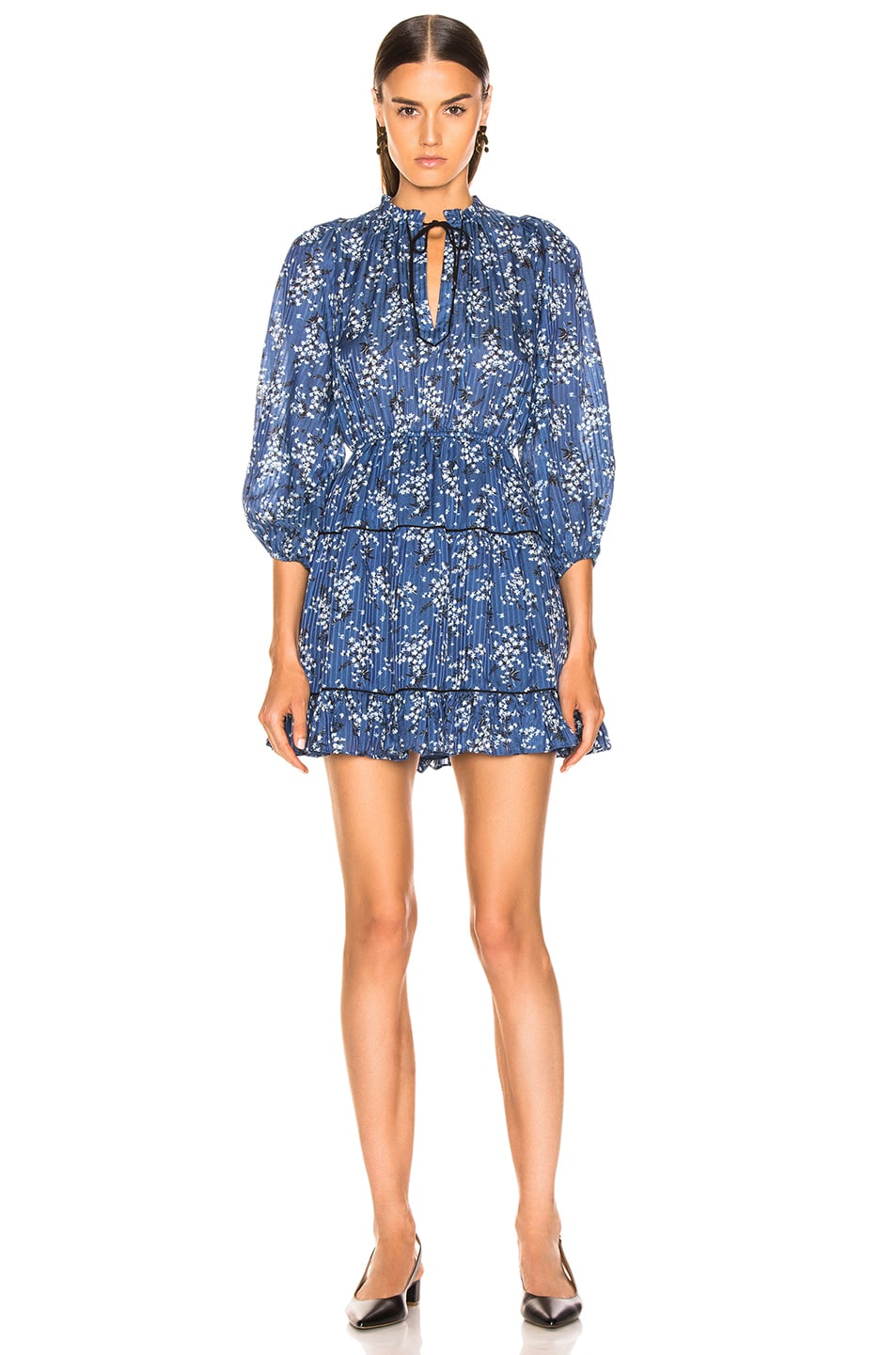 Image 2 of Ulla Johnson Brienne Dress in Cornflower
