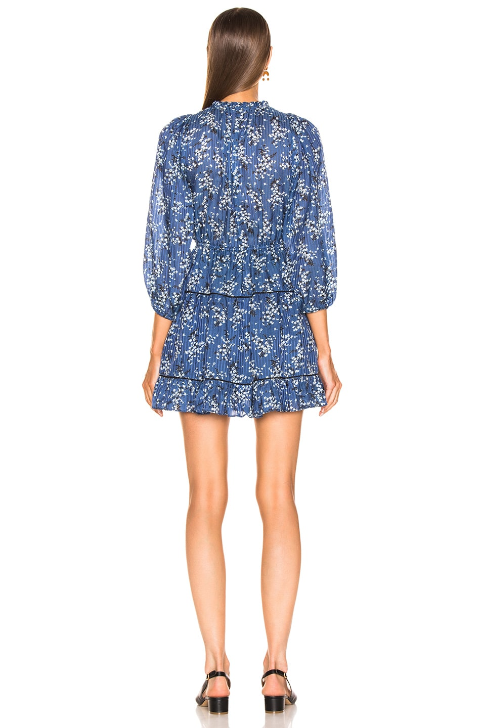 Image 4 of Ulla Johnson Brienne Dress in Cornflower
