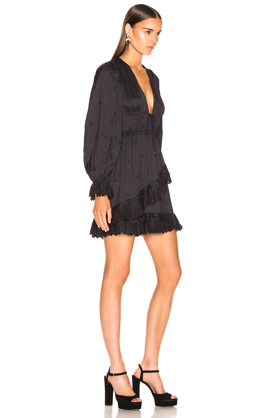 Image 2 of Ulla Johnson Millie Dress in Noir