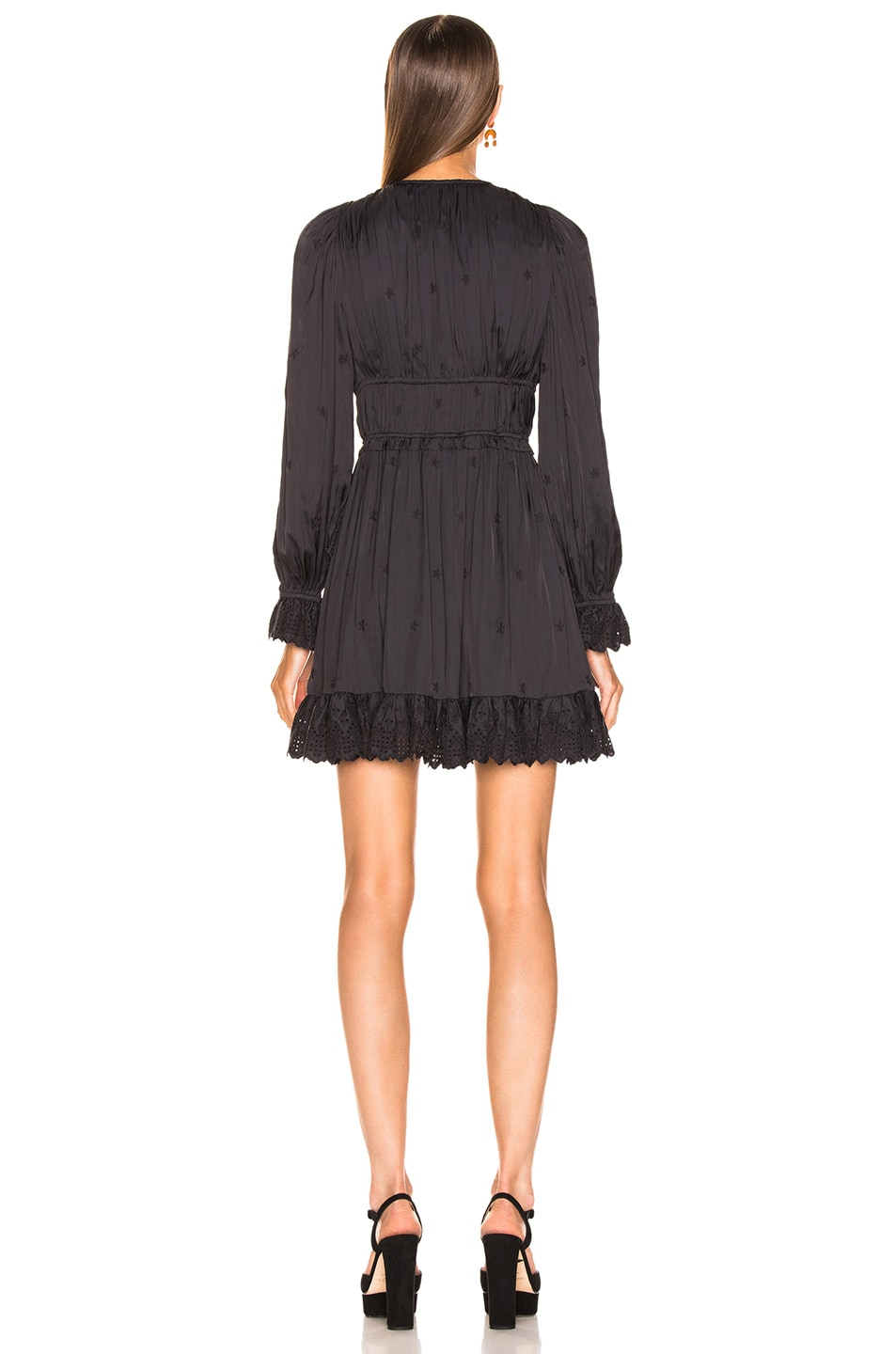 Image 4 of Ulla Johnson Millie Dress in Noir
