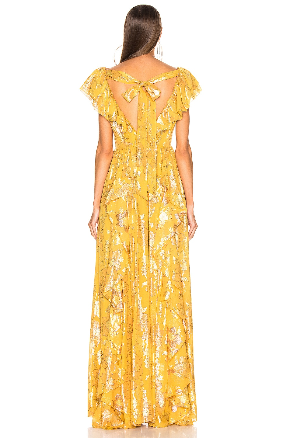 Image 3 of Ulla Johnson Demetria Gown in Citrine