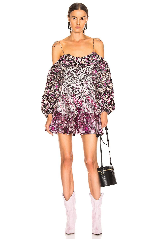 Image 1 of Ulla Johnson Jira Dress in Fuchsia