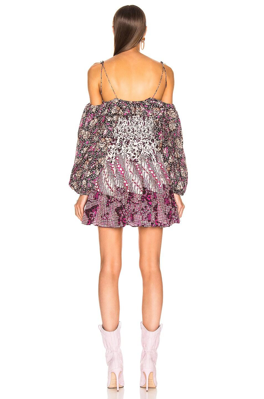 Image 3 of Ulla Johnson Jira Dress in Fuchsia