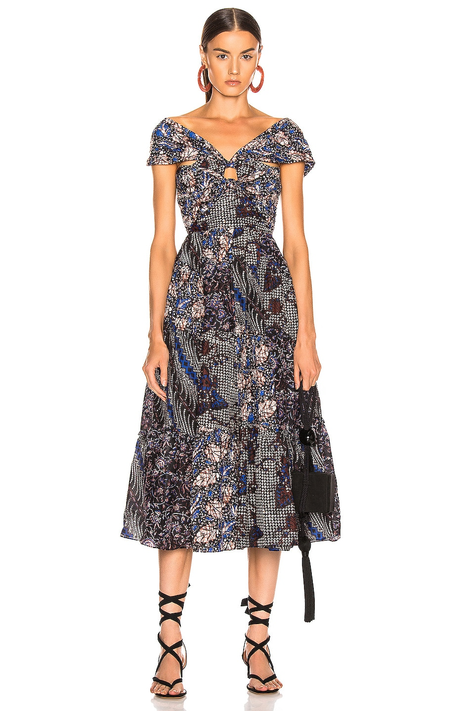 Image 1 of Ulla Johnson Naaila Dress in Indigo