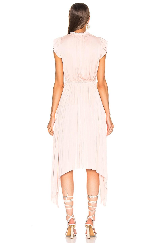Image 3 of Ulla Johnson Senna Dress in Peony