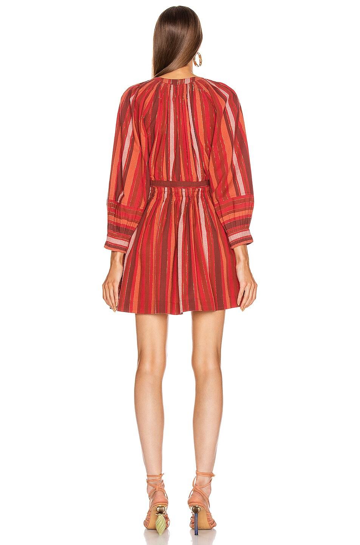Image 3 of Ulla Johnson Julia Dress in Cerise