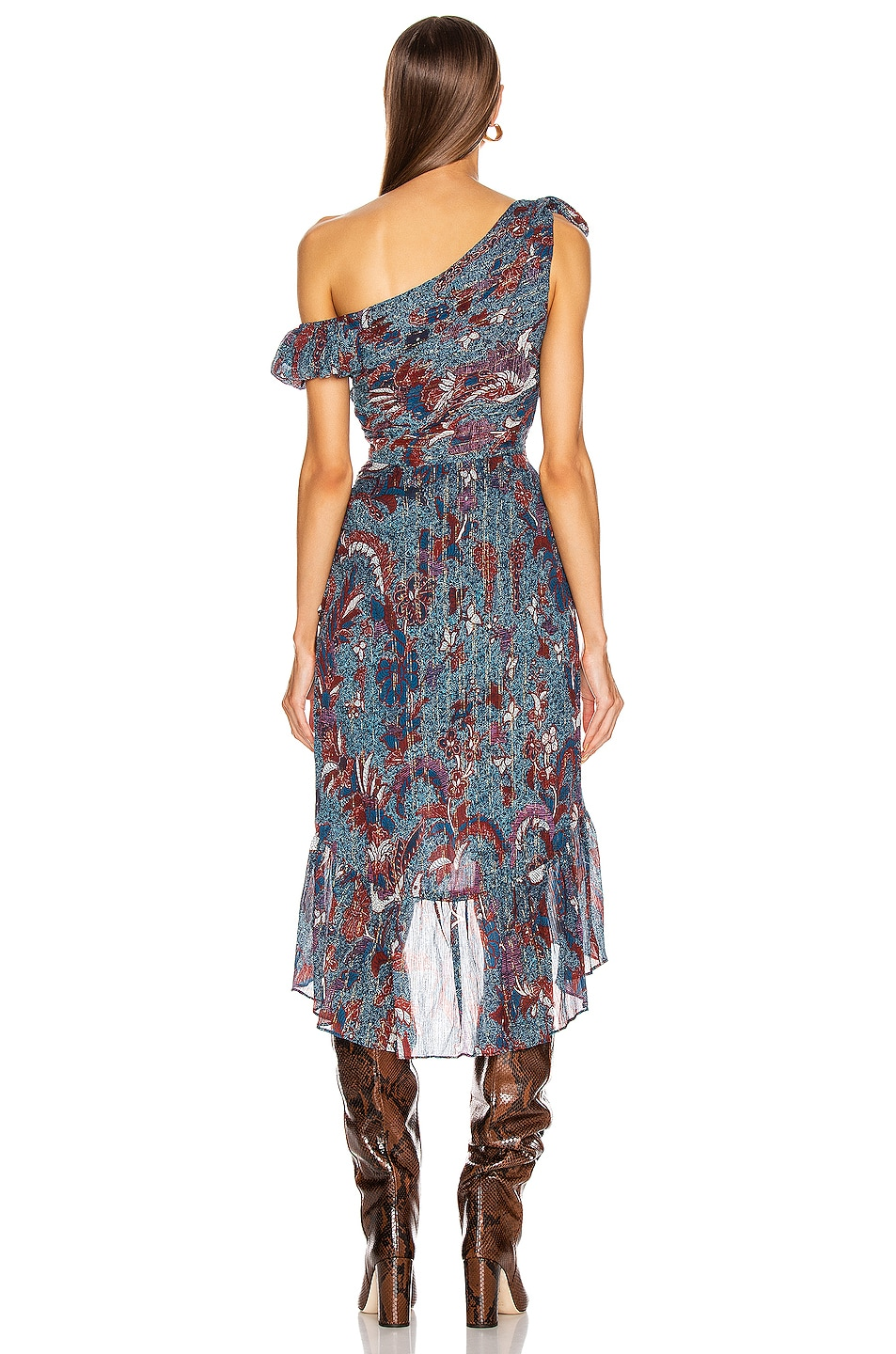Image 3 of Ulla Johnson Uma Dress in Azul
