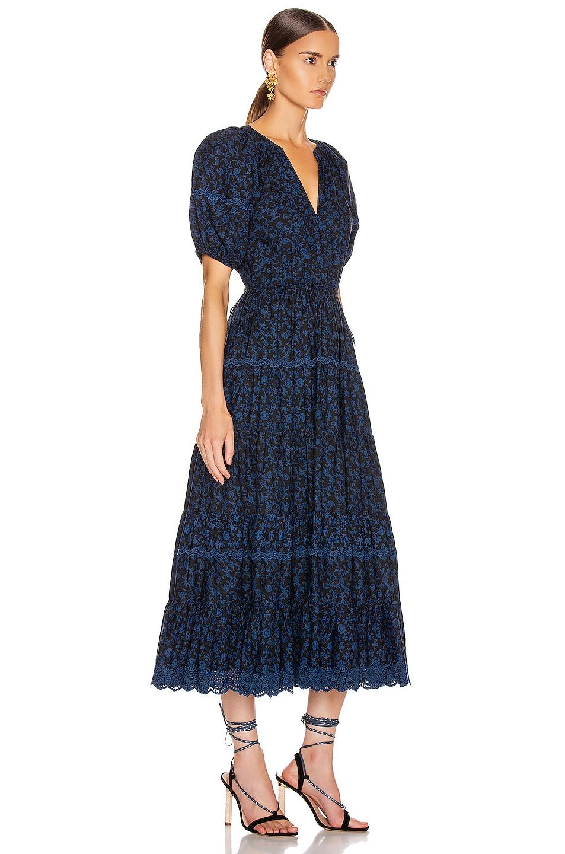 Image 2 of Ulla Johnson Claribel Dress in Midnight Floral