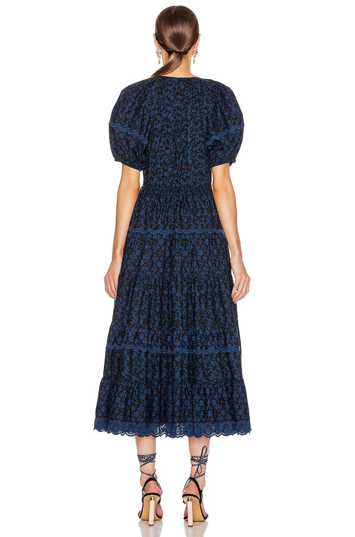 Image 3 of Ulla Johnson Claribel Dress in Midnight Floral
