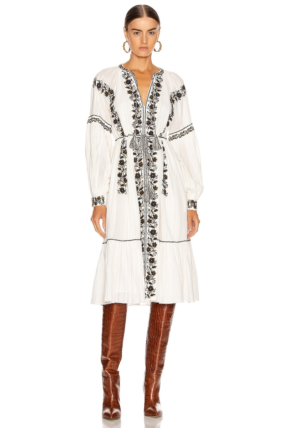 Image 2 of Ulla Johnson Vanita Dress in Blanc