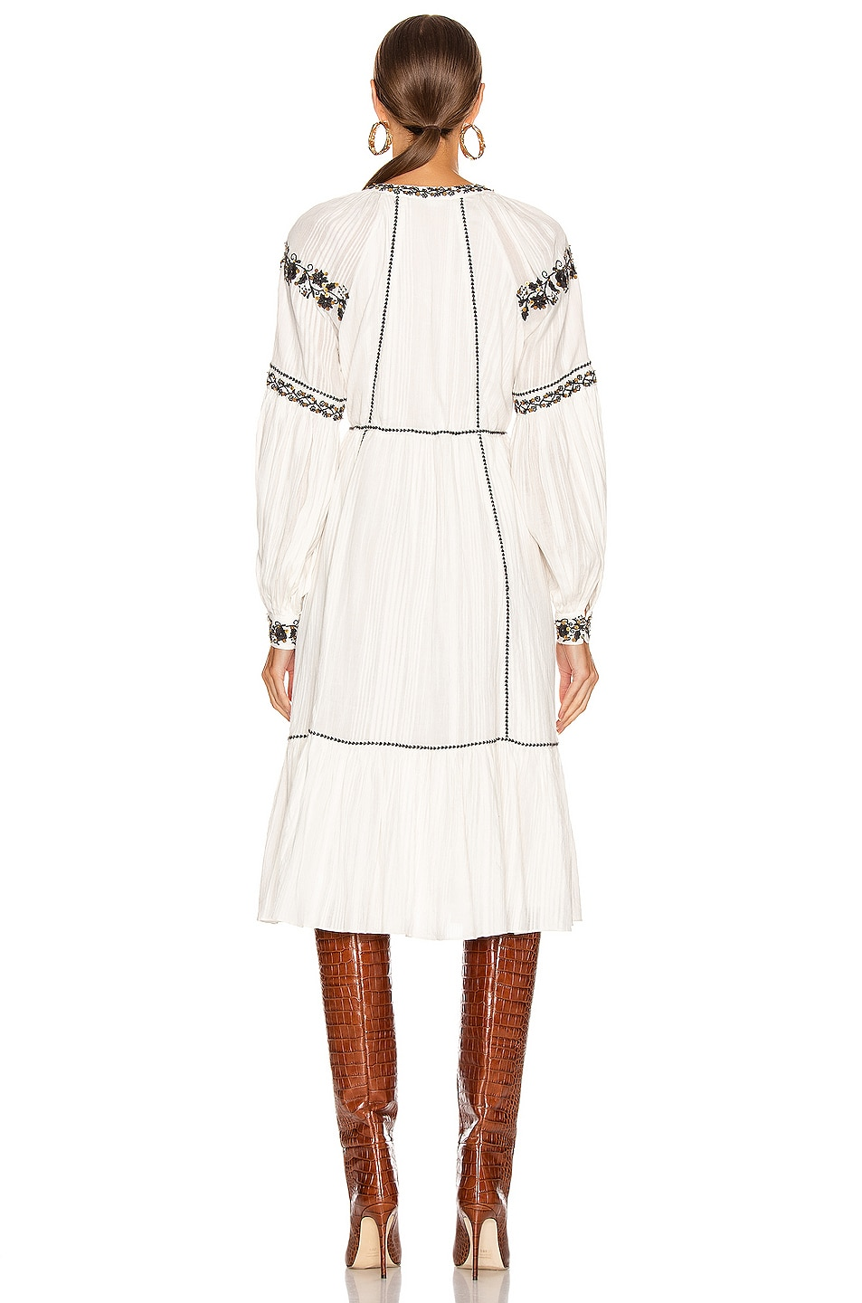 Image 4 of Ulla Johnson Vanita Dress in Blanc