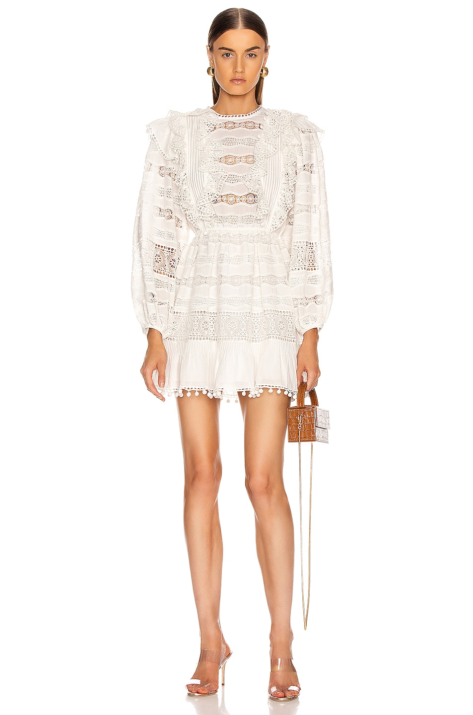 Image 1 of Ulla Johnson Jolie Dress in Blanc