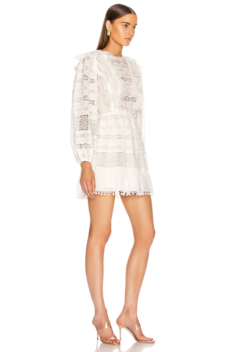 Image 2 of Ulla Johnson Jolie Dress in Blanc