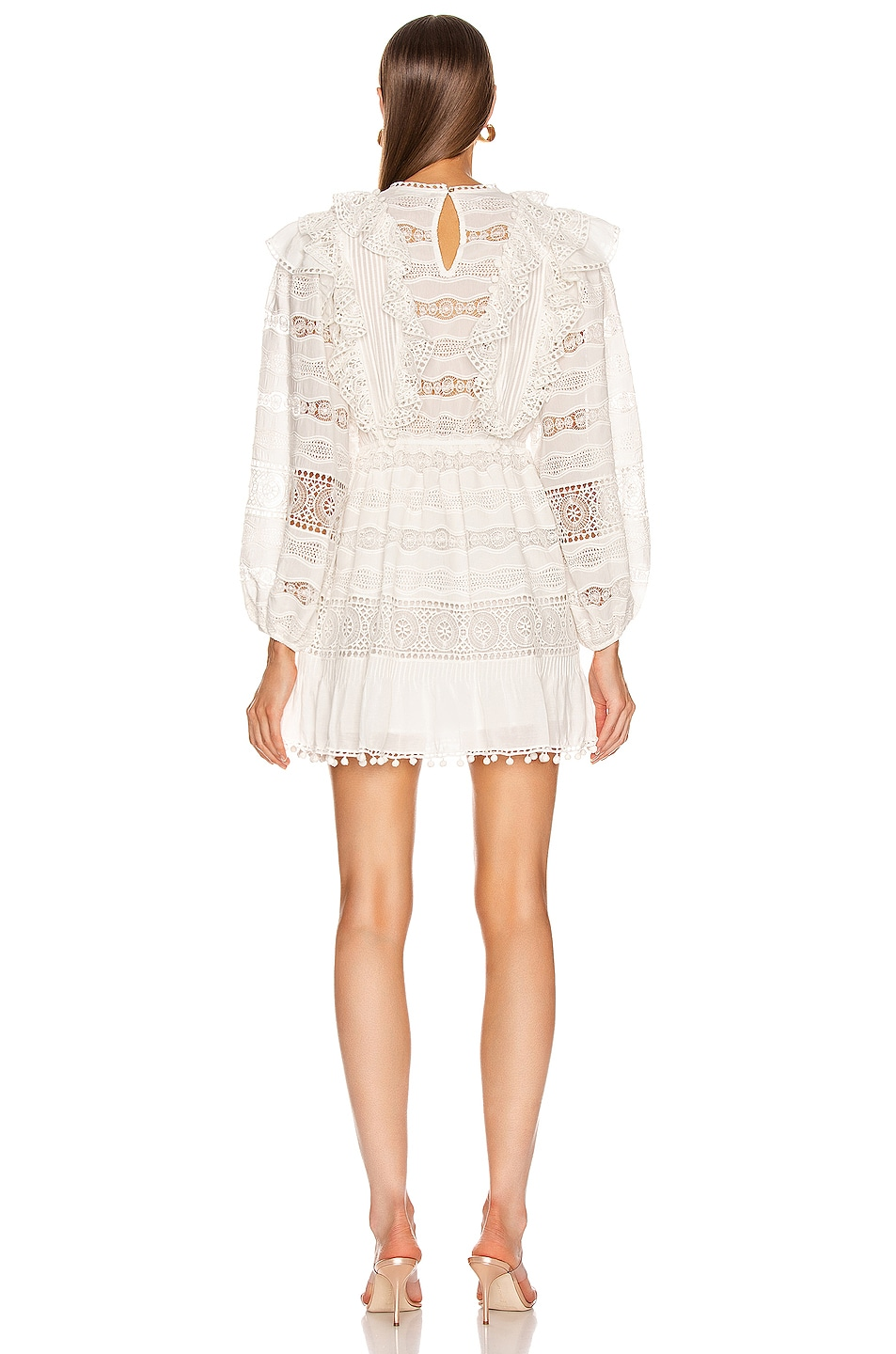 Image 3 of Ulla Johnson Jolie Dress in Blanc