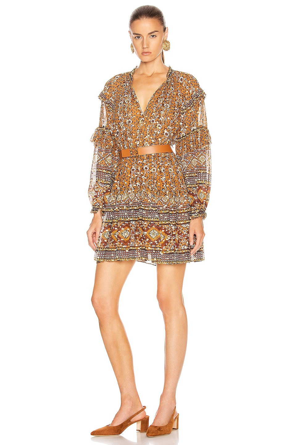 Image 1 of Ulla Johnson Erisa Dress in Ochre